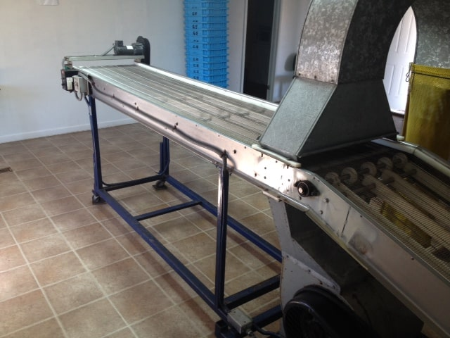 Blower Cleaner and Inspection Table
