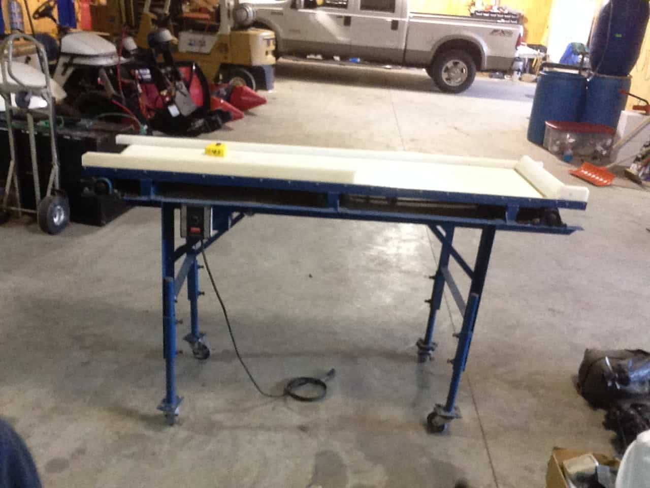Berry Inspection Table — 18in x 6ft