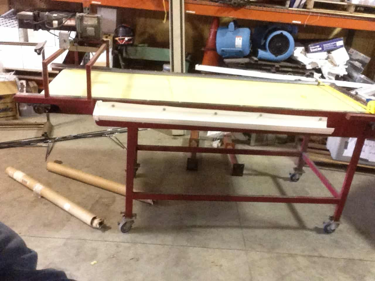Berry Inspection Table – 29in x 8ft