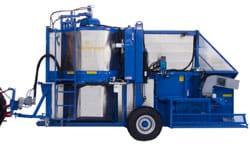Korvan 930 pull type harvester
