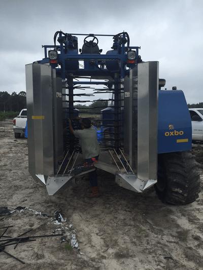 Oxbo 8000 Harvester