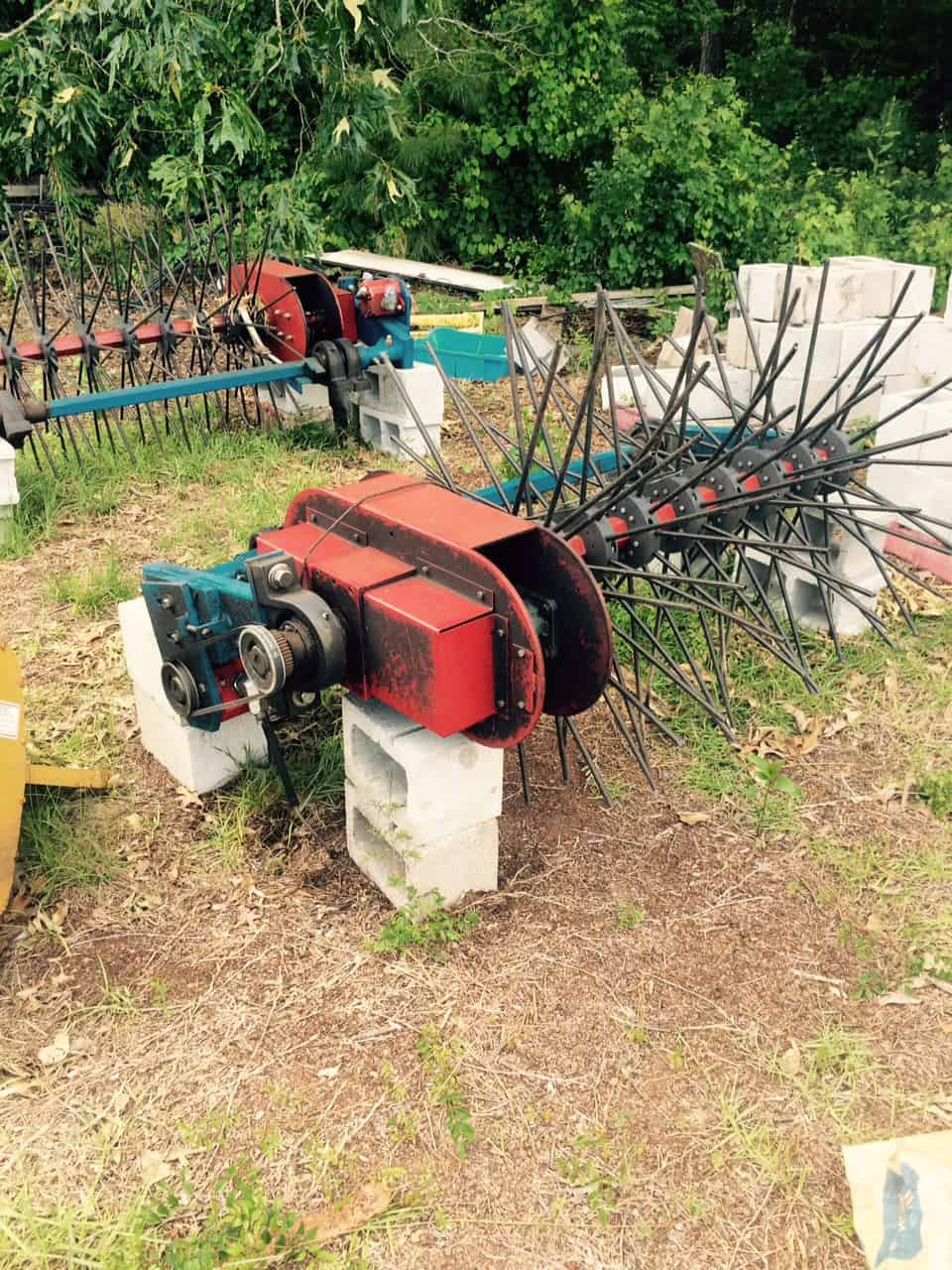 BEI Harvester Rotary Heads